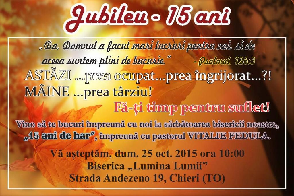 Jubileu 2015.2