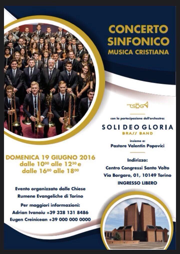concert fanfara SUA la Torino